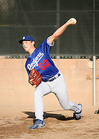 Michael Watt / Los Angeles Dodgers 2008 Instructional League..Photo by:  Bill Mitchell/Four Seam Images