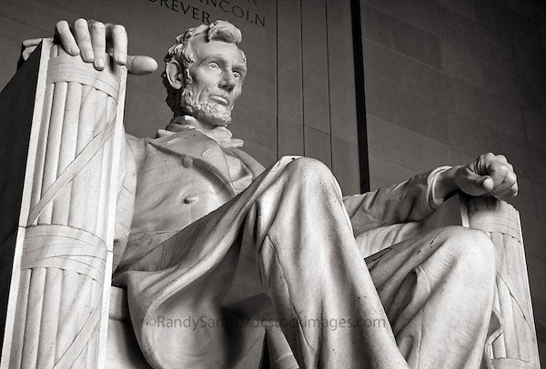 Lincolcn Memorial Washington DC<br /> Washington DC Stock Photography