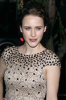 HOLLYWOOD, CA - FEBRUARY 6: Rachel Brosnahan at the Los Angeles premiere of Warner Bros. Pictures' 'Beautiful Creatures' at TCL Chinese Theatre on February 6, 2013 in Hollywood, California. Credit: mpi29/MediaPunch Inc. /NortePhoto