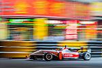 Santino Ferrucci races the Formula 3 Macau Grand Prix during the 61st Macau Grand Prix on November 16, 2014 at Macau street circuit in Macau, China. Photo by Aitor Alcalde / Power Sport Images