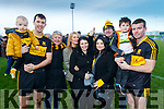 Shay Moloney, Michael Moloney, Ena Moloney, Margaret Doolan, Michelle Moloney, Chantelle Doolan, Eddie Doolan, Alex Doolan and Shane Doolan Dr Crokes Supporters and players pictured after the County final at Austin Stack Park on Sunday.