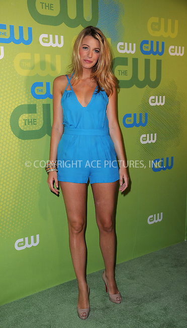 WWW.ACEPIXS.COM . . . . . ....May 21 2009, New York City....Actress Blake Lively arriving at the 2009 The CW Network UpFront at Madison Square Garden on May 21, 2009 in New York City.....Please byline: KRISTIN CALLAHAN - ACEPIXS.COM.. . . . . . ..Ace Pictures, Inc:  ..tel: (212) 243 8787 or (646) 769 0430..e-mail: info@acepixs.com..web: http://www.acepixs.com