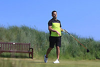 Gary O'Flaherty (Cork) on the 3rd tee during Round 2 of the East of Ireland Amateur Open Championship 2018 at Co. Louth Golf Club, Baltray, Co. Louth on Sunday 3rd June 2018.<br /> Picture:  Thos Caffrey / Golffile<br /> <br /> All photo usage must carry mandatory copyright credit (&copy; Golffile | Thos Caffrey)