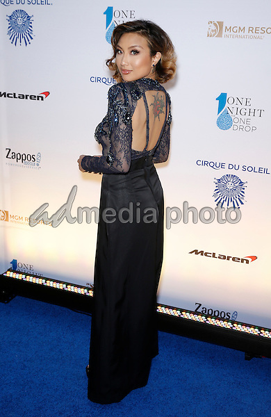 18 March 2016 - Las Vegas, Nevada - Jeannie Mai. Cirque Du Soleil presents star-studded blue carpet at Fourth Annual One Night for ONE DROP at the Cleveland Clinic Lou Ruvo Center for Brain Health. Photo Credit: MJT/AdMedia