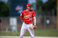 St. Louis Cardinals pitcher Zach Prendergast (72) during a Minor League Spring Training Intrasquad game on March 28, 2019 at the Roger Dean Stadium Complex in Jupiter, Florida.  (Mike Janes/Four Seam Images)