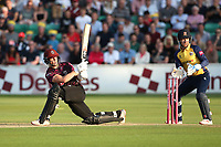 Tom Abell hits 4 runs for Somerset during Essex Eagles vs Somerset, Vitality Blast T20 Cricket at The Cloudfm County Ground on 7th August 2019