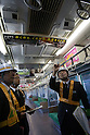 Security cameras on Saikyo Line trains