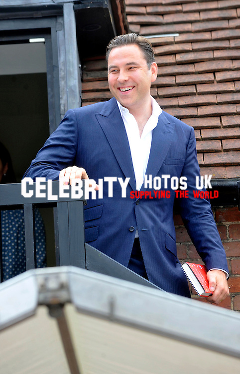 David Walliams..BGT judge and funnyman talks about his recent children's book, Gangsta Granny. Signing follows from Picture By: Brian Jordan / Retna Pictures.. ..-..
