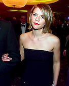 Claire Danes departs the 1999 White House Correspondents Dinner at the Washington Hilton Hotel in Washington, D.C. on May 1, 1999..Credit: Ron Sachs / CNP..