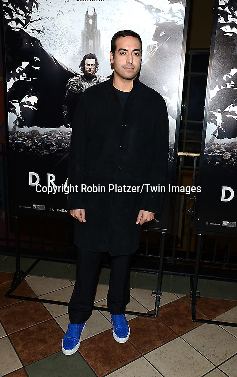 Mohammed Al Turki attends the Special Screening of &quot;Dracula Untold&quot;  on October 6, 2014 at The ABC Loews 34th Street Imax Theatre In New York City. <br /> <br /> photo by Robin Platzer/Twin Images<br />  <br /> phone number 212-935-0770