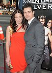 Lynn Collins & Steven Strait at The Twentieth Century Fox L.A. Screening of X-Men Origins - Wolverine held at The Grauman's Chinese Theatre in Hollywood, California on April 28,2009                                                                     Copyright 2009 Debbie VanStory/RockinExposures