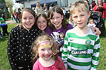 Ellie Shevlin, Céire Nolan, Rache Becker, Darragh McAvoy and Aisling Becker at the Fundraising BBQ in Termonfeckin National School...Photo NEWSFILE/Jenny Matthews.(Photo credit should read Jenny Matthews/NEWSFILE)....This Picture has been sent you under the condtions enclosed by:.Newsfile Ltd..The Studio,.Millmount Abbey,.Drogheda,.Co Meath..Ireland..Tel: +353(0)41-9871240.Fax: +353(0)41-9871260.GSM: +353(0)86-2500958.email: pictures@newsfile.ie.www.newsfile.ie.FTP: 193.120.102.198.