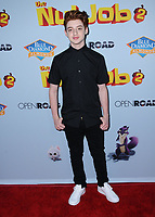 "05 August  2017 - Los Angeles, California - Thomas Barbusca.  World premiere of ""Nut Job 2: Nutty by Nature""  held at Regal Cinema at L.A. Live in Los Angeles. Photo Credit: Birdie Thompson/AdMedia"