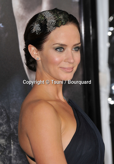 05_ Emily Blunt _05   -<br /> The Wolfman Premiere at the Arclight Theatre In Los Angeles.