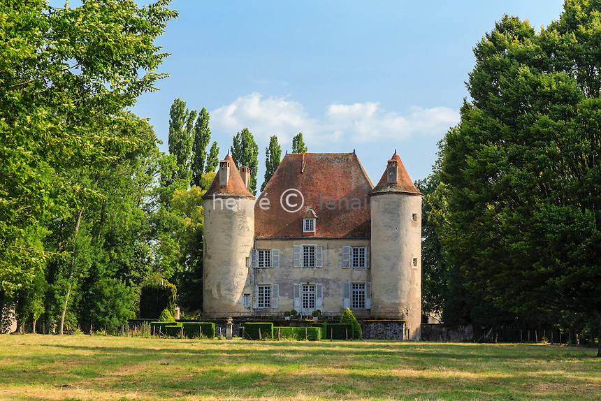 France, Allier (03), Rongères, château du Méage // France, Allier, Rongeres, Meage Castle