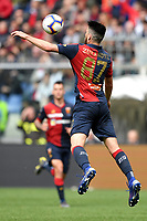 Ervin Zukanovic of Genoa in action during the Serie A 2018/2019 football match between Genoa CFC and Juventus FC at stadio Luigi Ferraris, Genova, March 17, 2019 <br /> Photo Andrea Staccioli / Insidefoto
