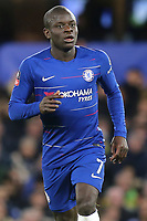 N'Golo Kante of Chelsea during Chelsea vs Manchester United, Emirates FA Cup Football at Stamford Bridge on 18th February 2019