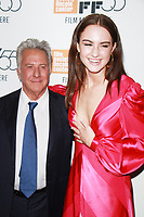 NEW YORK, NY October 01, 2017 Dustin Hoffman, Grace Van Patten, attend 55th New York Film Festival premiere of The Meyerowitz Stories at Alice Tully Hall Lincoln Center in New York October 01,  2017.<br /> CAP/MPI/RW<br /> &copy;RW/MPI/Capital Pictures