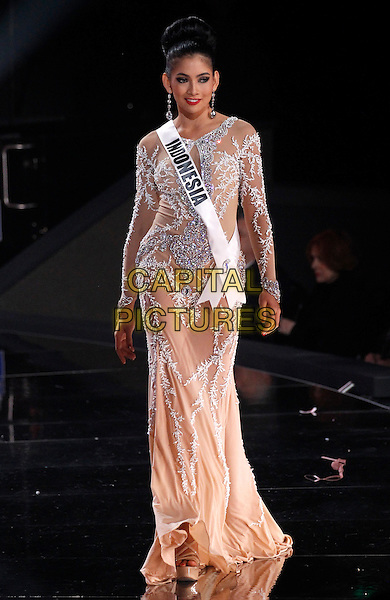 16 December 2015 - Las Vegas, Nevada -  Miss Indonesia, Anindya Kusuma Putri.  2015 Miss Universe Preliminary Competition at Axis at Planet Hollywood Resort and Casino. <br /> CAP/ADM/MJT<br /> &copy; MJT/AdMedia/Capital Pictures