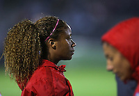 Boyds, MD - Friday Sept. 30, 2016: Casey Short prior to a National Women's Soccer League (NWSL) semi-finals match between the Washington Spirit and the Chicago Red Stars at Maureen Hendricks Field, Maryland SoccerPlex. The Washington Spirit won 2-1 in overtime.