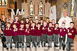 Scoil Realta Na Madne, Listowel  pupils who received their 1st Communion's from Canon Declan O'Connor in St Mary's Church, Listowel on Saturday morning last.