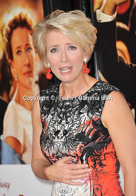 Emma Thompson at Mr Banks Premiere at the TLC Chinese Theatre in Los Angeles.