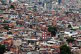 BRAZIL, Rio de Janiero, Favela, an ariel view of Complexo do Alemao, a neighborhood within the North Zone