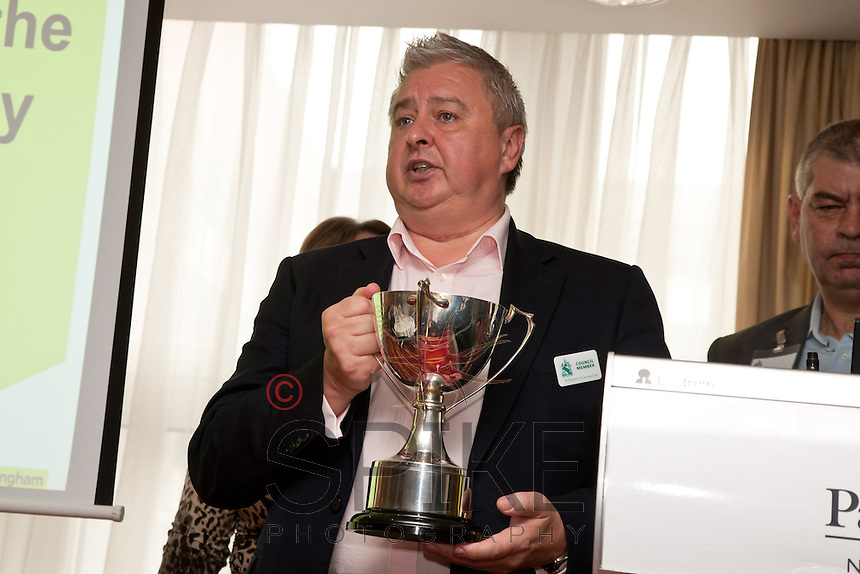 Barry Cockburn, whose firm Sherwood Place Wealth Management won the Nottingham City Business Club Golf Day tournament.