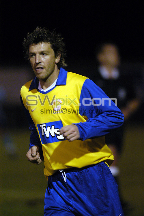Pix:Simon Wilkinson/SWpix.com. Football Feature. ex Manchester United, Lee Sharpe turns out fot local Leeds side Garfoth Town in the Nort East Counties League 1, see story. 28/09/2004..COPYRIGHT PICTURE>>SIMON WILKINSON>>07811 267 706>>..ex Manchester United, Lee Sharpe turns out fot local Leeds side Garfoth Town in the Nort East Counties League 1, see story. 28/09/2004.