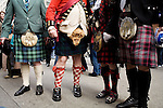 Saturday, April 14,  2007, New York, New York.. The 9th annual Tartan Day Parade was held today on 6th Avenue between 44th and 58th Streets.. Thousands turned out to play the drums, pipes and to view all those dressed for the occasion.