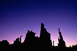 Sunrise over tufa towers, Mono Lake Tufa State Reserve, California, USA