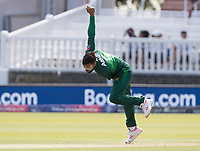 Mohammad Amir (Pakistan) in action during Pakistan vs Bangladesh, ICC World Cup Cricket at Lord's Cricket Ground on 5th July 2019