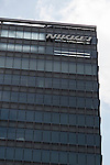 General view of the Japanese news organization Nikkei Inc. building on July 24, 2015, Tokyo, Japan. Nikkei Inc. announced on Thursday July 23rd the buy-out of the leading British newspaper Financial Times Group from the educational services group Pearson PLC for 844 million pounds (about $1.3 billion,) with a transaction expected to close in the fourth quarter of 2015 and expected to be one of the biggest acquisitions of an overseas business by a Japanese media group ever. (Photo by Rodrigo Reyes Marin/AFLO)
