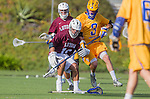 Costa Mesa, CA 03/08/14 - \l10\ and Matt Hirning (UCSB #3) in action during the MCLA Loyola Marymount vs UC Santa Barbara men's lacrosse game as part of the 2014 Pacific Shootout.  UCSB defeated LMU 12-7 at Le Bard Stadium.