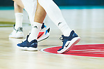 Jeffrey's Taylor shoes during Real Madrid vs Kirolbet Baskonia game of Liga Endesa. 19 January 2020. (Alterphotos/Francis Gonzalez)