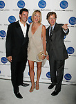SANTA MONICA, CA. - September 10: Dr. Jay Grossman, Sharon Stone and William H. Macy arrive at the A Smile for Every Child Gala at the Hotel Shangri-La on September 10, 2009 in Santa Monica, California.