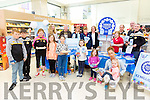 Tesco Manor, held a Tea Party for past causes in the Community Fund. Reach 2 million celebration nationwide on Saturday. Pictured Darragh Moriarty, Donncha Sayers,  Alannah O'Connor, Colleen Sayers, Ashling Bailey, Amy Hobbert, April Kerins, Jacinta Hobbert, Amber Hobbert Back l-r Linda Arnette, Eddie Riordan, Lisa Hobbert, Niobe O'Brien, Elma Walsh, Livelife Foundation, Pamela O'Connor, Denis Sayer, Austin Stacks GAA, Ed O'Connor, Austin Stacks GAA, Anthony Moriarty, Austin Stacks GAA