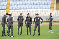 20190306 - LARNACA , CYPRUS : illustration picture during a women's soccer game between Korea DPR and Italy , on Wednesday 6 March 2019 at the GSZ Stadium in Larnaca , Cyprus . This is final of  the Cyprus Womens Cup 2019 , a prestigious women soccer tournament as a preparation on the FIFA Women's World Cup 2019 in France . PHOTO SPORTPIX.BE   STIJN AUDOOREN