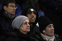 Charlton Athletic striker, Josh MaGennis, was watching the match from a seat in the Stands during Chelsea vs West Bromwich Albion, Premier League Football at Stamford Bridge on 12th February 2018