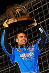 Nov 07, 2009; 10:11:16 PM; Concord, NC, USA; The third-annual World of Outlaws World Finals racing at The Dirt Track @ Lowe's Motor Speedway.  Mandatory Credit: (thesportswire.net)