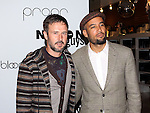 David Arquette and Ben Harper promote Propr at Bloomingdale's