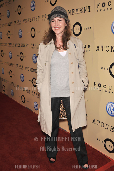 "Peri Gilpin at the Los Angeles premiere of ""Atonement"" at the Academy Theatre, Beverly Hills..December 6, 2007  Beverly Hills, CA.Picture: Paul Smith / Featureflash"
