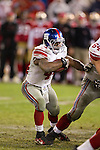 New York Giants quarterback Ahmad Bradshaw (44) carries the ball during an NFC Championship NFL football game against the San Francisco 49ers on January 22, 2012 in San Francisco, California. The Giants won 20-17 in overtime. (AP Photo/David Stluka)