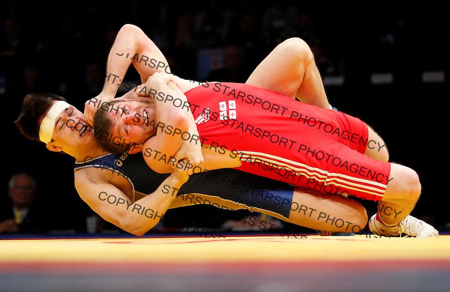 Wrestling, European championship 2012.Rvanje, Evropsko prvenstvo .Finala.Beograd, 11.03.2012.foto: Srdjan Stevanovic/Starsportphoto ©