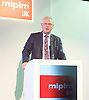 MIPIM UK <br /> at Olympia, London, Great Britain <br /> 21st October 2015<br /> Key Note Speech by The Rt Hon Lord Francis Maude of Horsham Minister of State , Trade and Investment<br /> <br /> Photograph by Elliott Franks <br /> Image licensed to Elliott Franks Photography Services
