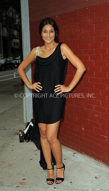 WWW.ACEPIXS.COM . . . . . ....September 16 2009, New York City....Actress Emmanuelle Chriqui arriving at the Marchesa Spring 2010 presentation as part of Mercedes Benz Fashion Week on September 16 2009 in New York City....Please byline: KRISTIN CALLAHAN - ACEPIXS.COM.. . . . . . ..Ace Pictures, Inc:  ..tel: (212) 243 8787 or (646) 769 0430..e-mail: info@acepixs.com..web: http://www.acepixs.com
