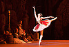 Le Corsaire <br /> by Alexei Ratmansky of Petipa <br /> Bolshoi Ballet <br /> at The Royal Opera House, Covent House, London, Great Britain <br /> 11th August 2016 <br /> Rehearsal<br /> <br /> <br /> Yulia Stepanova as Medora<br /> <br /> <br /> <br /> <br /> Photograph by Elliott Franks <br /> Image licensed to Elliott Franks Photography Services