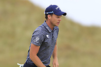 Danny Willett (ENG) on the 1st green during Saturday's Round 3 of the 2018 Dubai Duty Free Irish Open, held at Ballyliffin Golf Club, Ireland. 7th July 2018.<br /> Picture: Eoin Clarke | Golffile<br /> <br /> <br /> All photos usage must carry mandatory copyright credit (&copy; Golffile | Eoin Clarke)