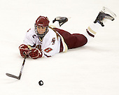 Alison Szlosek (BC - 8) - The Boston College Eagles defeated the visiting Northeastern University Huskies 2-1 on Sunday, January 30, 2011, at Conte Forum in Chestnut Hill, Massachusetts.