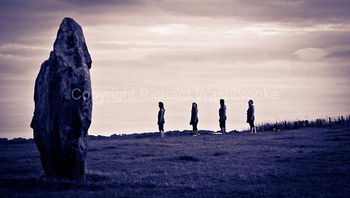 Cathy Washbrooke - Merge - Avebury Stone Circle